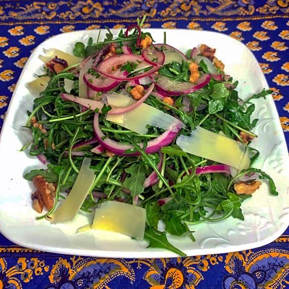 Arugula Salad - CookinGenie