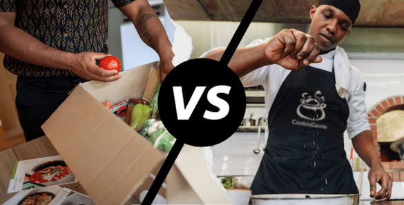 Meal Kits vs. Personal Chef – Which is right for you-CookinGenie