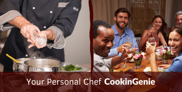 Personal Chef -a Safer Way for dinner party - cookinGenie